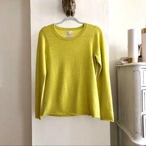 J. Crew 100% Cashmere Sweater. Size M